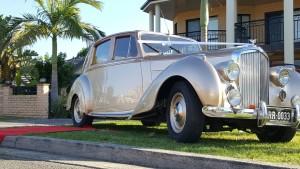 """""""Juliet"""", Bentley MK 6 4 seater"""