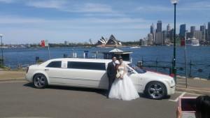 """Snow White"", 10 seater Chrysler 300c"